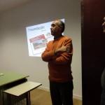 Presentación en las escuelas de Contreras